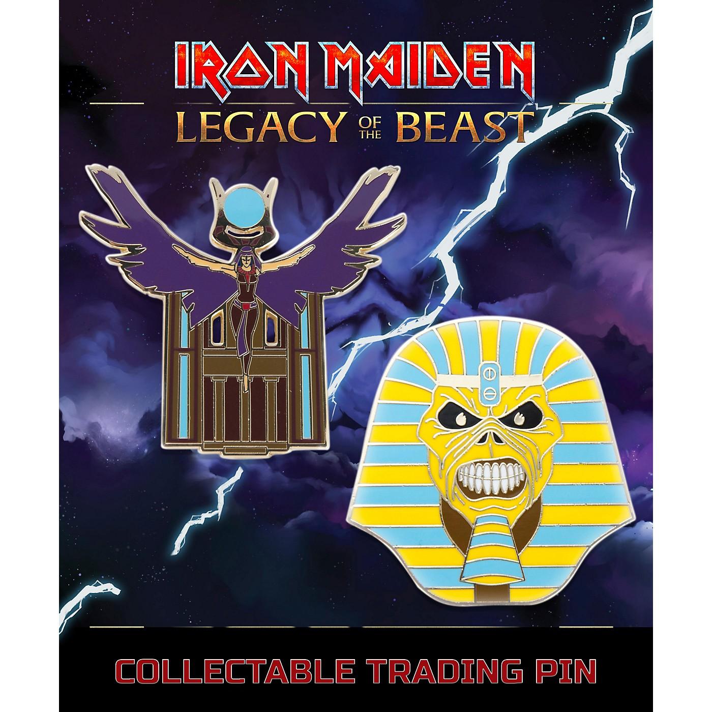 Entertainment Earth Iron Maiden Set #2 Pharaoh and Aset Lapel Pin 2-Pack thumbnail