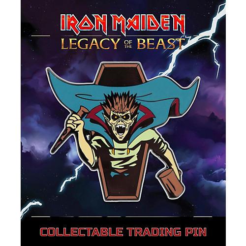 Entertainment Earth Iron Maiden Vampire Hunter Eddie Lapel Pin thumbnail