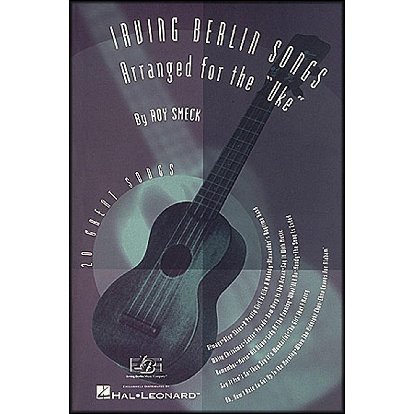 Hal Leonard Irving Berlin Songs Arranged for the Uke thumbnail