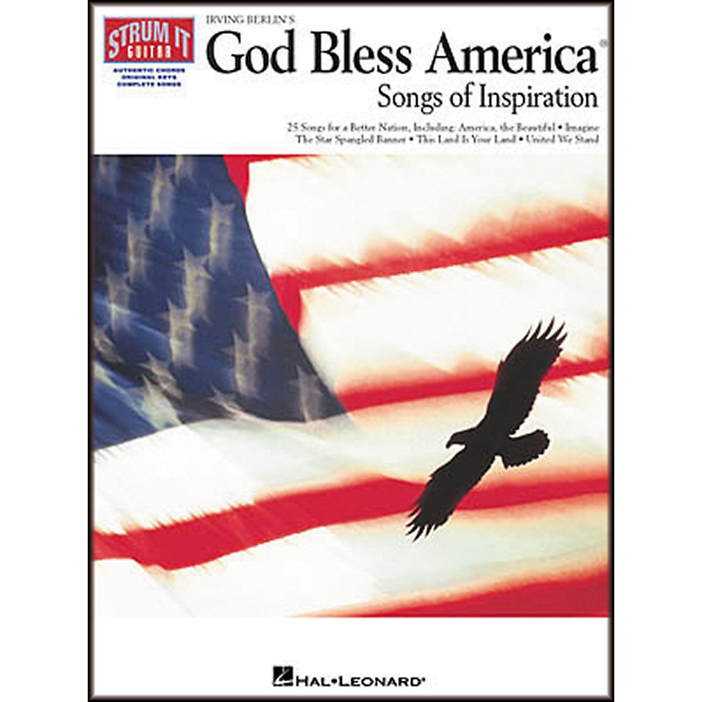 Hal Leonard Irving Berlin's God Bless America Strum It Guitar Chord Songbook thumbnail
