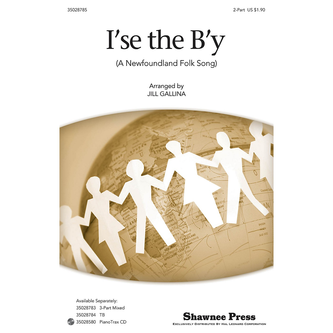 Shawnee Press I'se the B'y 2-Part arranged by Jill Gallina thumbnail