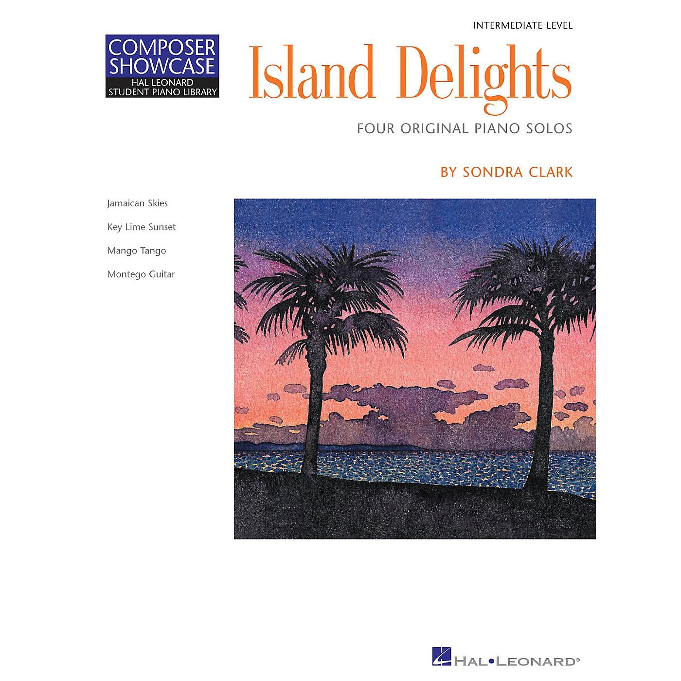 Hal Leonard Island Delights (Inter Level) Piano Library Series by Sondra Clark thumbnail