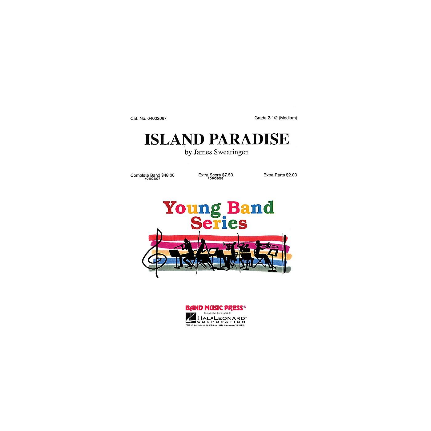 Hal Leonard Island Paradise (Band Music Press) Concert Band Level 2.5 Composed by James Swearingen thumbnail