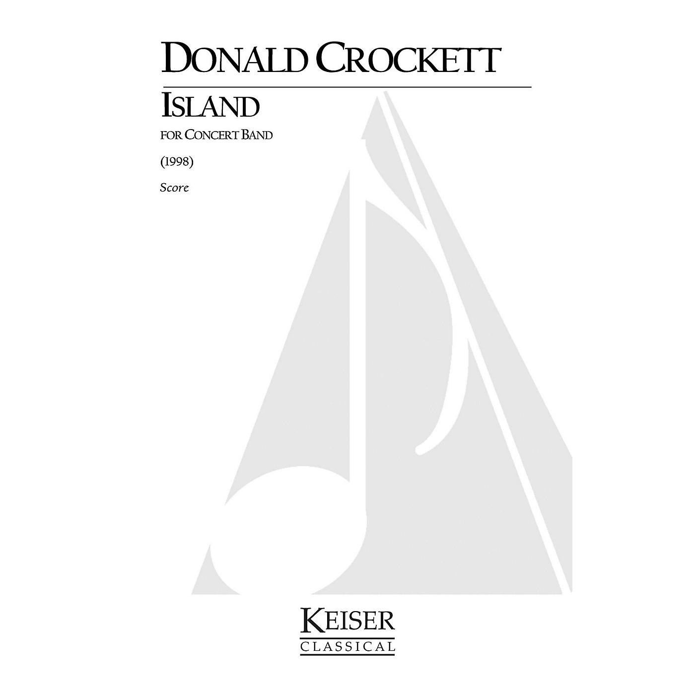 Lauren Keiser Music Publishing Island (for Wind Ensemble) LKM Music Series by Donald Crockett thumbnail