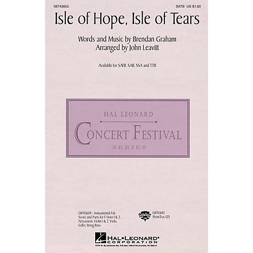 Hal Leonard Isle of Hope, Isle of Tears TTB by The Irish Tenors Arranged by John Leavitt thumbnail