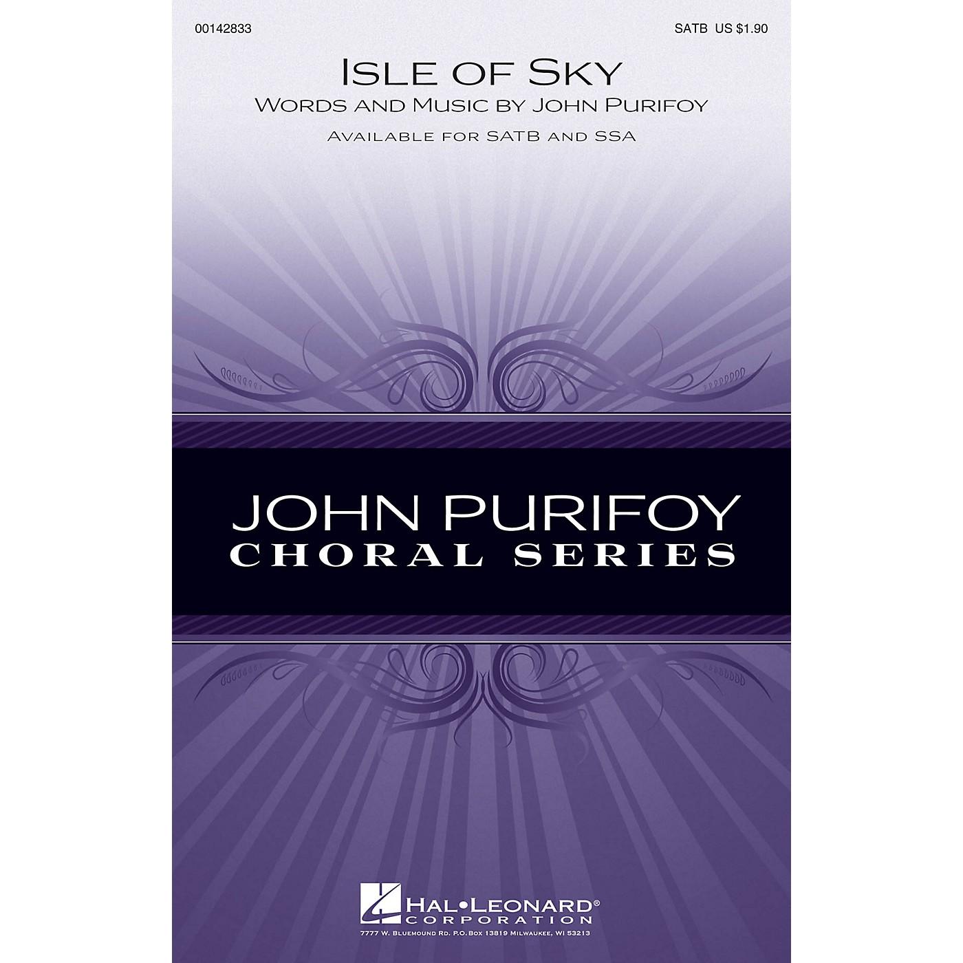 Hal Leonard Isle of Skye SATB composed by John Purifoy thumbnail