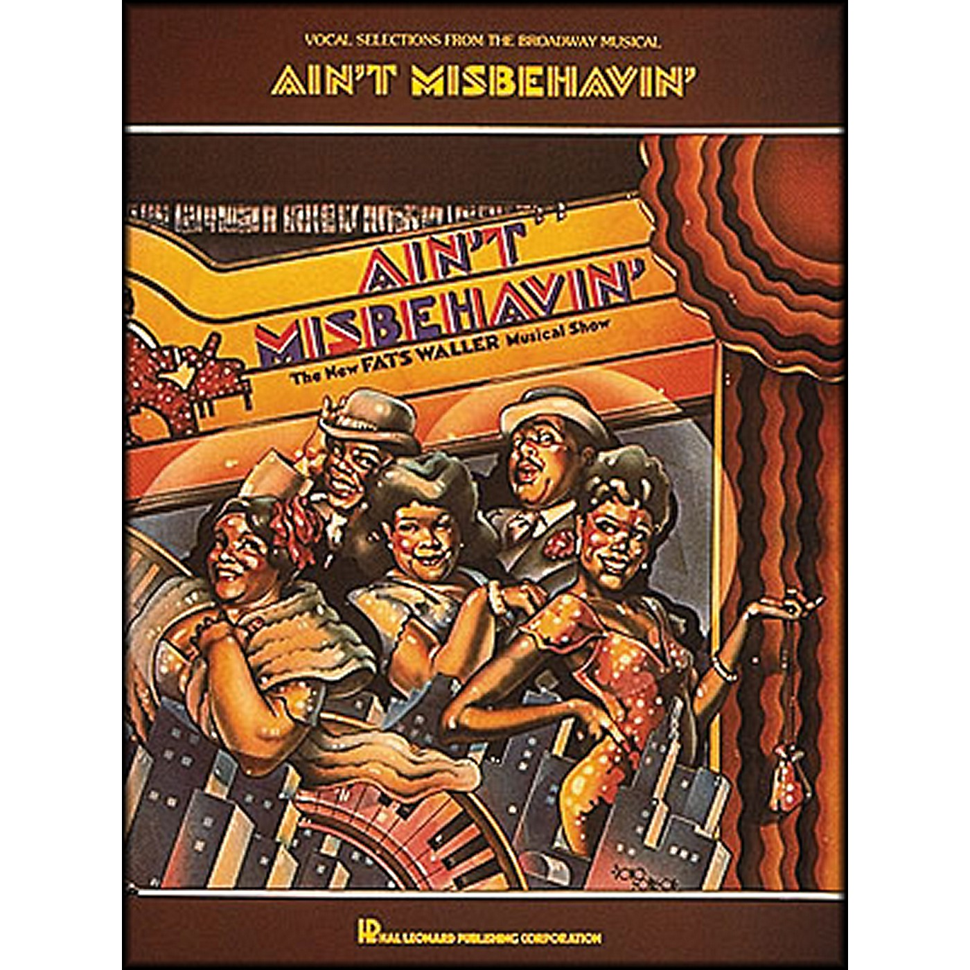 Hal Leonard Isn't Misbehavin' Vocal Selections From The Broadway Musical arranged for piano, vocal, and guitar (P/V/G) thumbnail