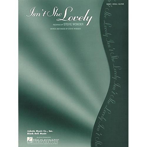 Hal Leonard Isn't She Lovely thumbnail