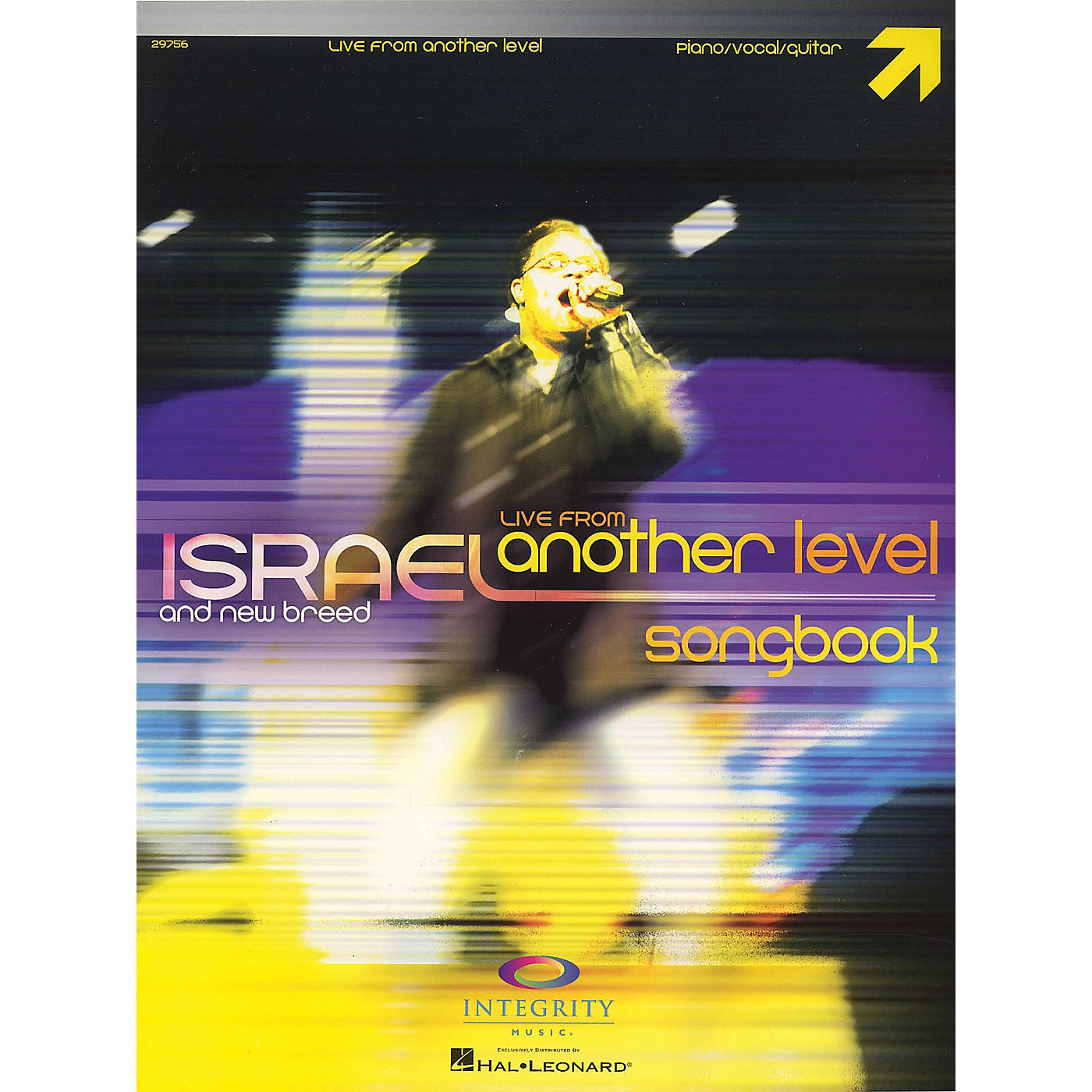 Integrity Music Israel Houghton - Live from Another Level Integrity Series Softcover Performed by Israel Houghton thumbnail