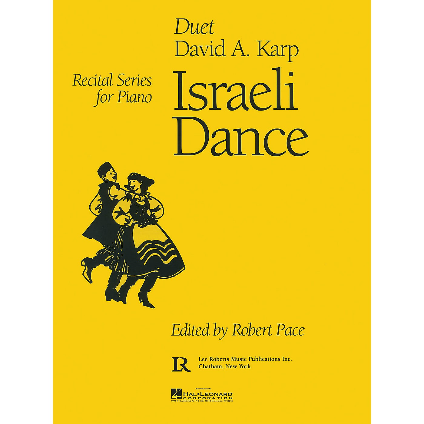 Lee Roberts Israeli Dance (Recital Series for Piano Duet) Pace Duet Piano Education Series Composed by David A. Karp thumbnail
