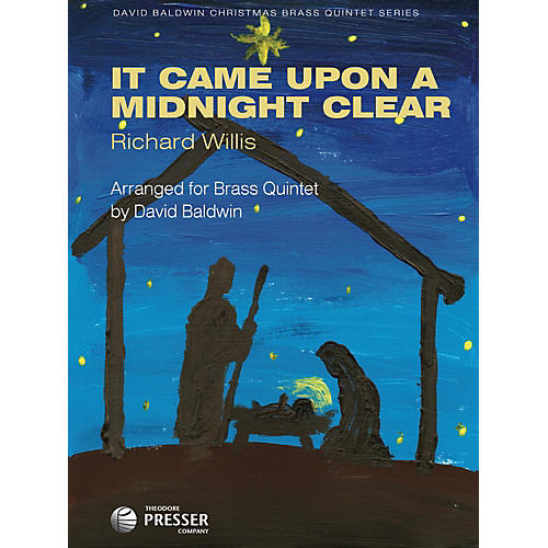 Carl Fischer It Came Upon A Midnight Clear (For Brass Quintet) thumbnail