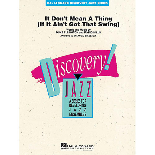 Hal Leonard It Don't Mean a Thing Jazz Band Level 1-2 by Duke Ellington Arranged by Michael Sweeney thumbnail