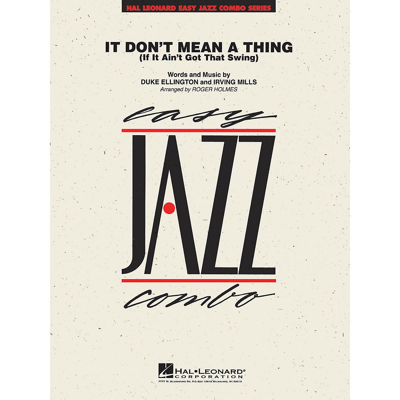 Hal Leonard It Don't Mean a Thing Jazz Band Level 2 Arranged by Roger Holmes thumbnail