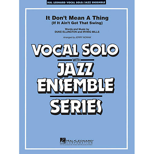 Hal Leonard It Don't Mean a Thing (Key: Cmi) Jazz Band Level 3-4 thumbnail