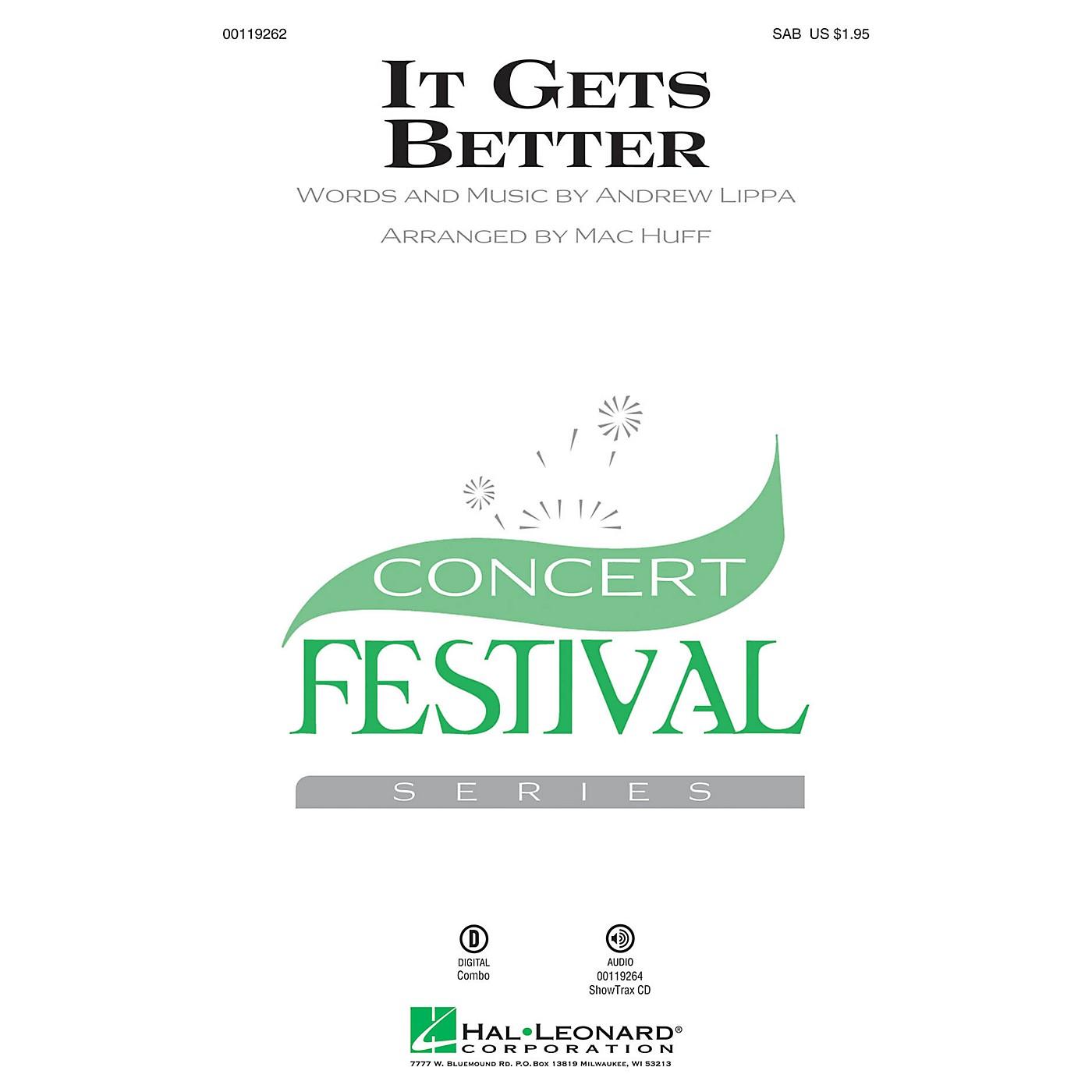 Hal Leonard It Gets Better SAB arranged by Mac Huff thumbnail
