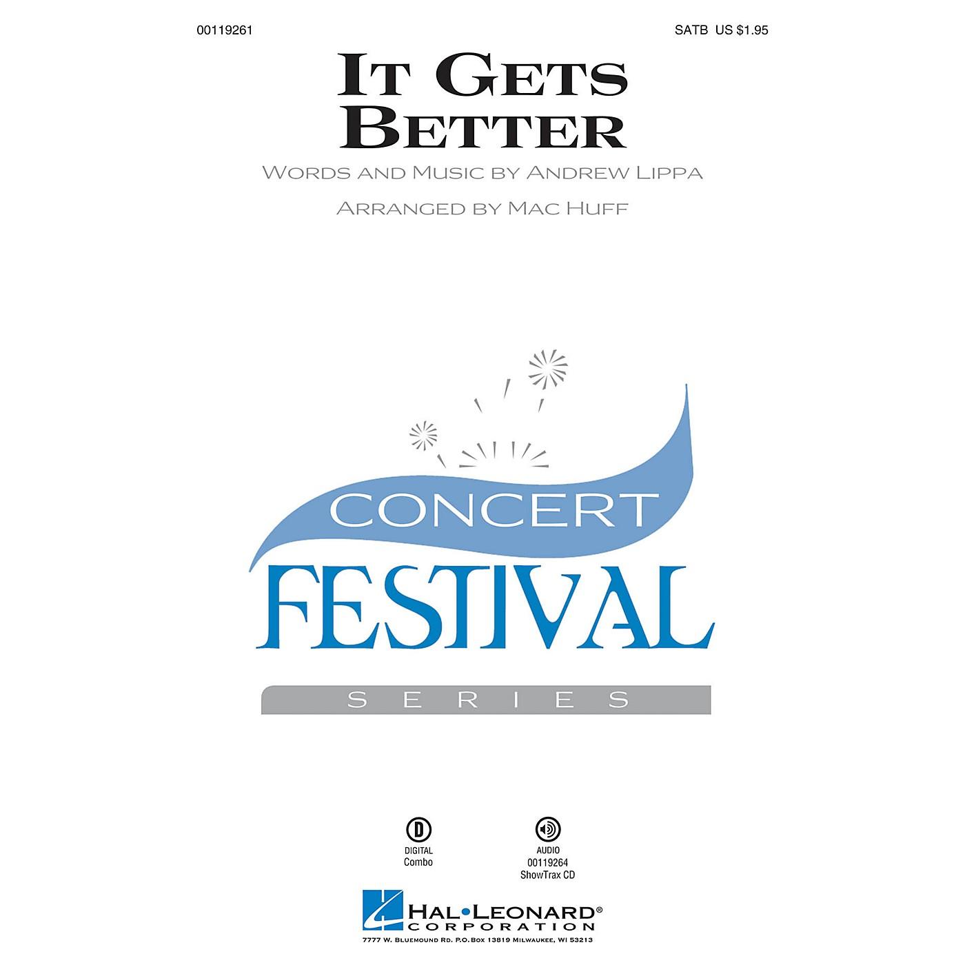 Hal Leonard It Gets Better SATB arranged by Mac Huff thumbnail