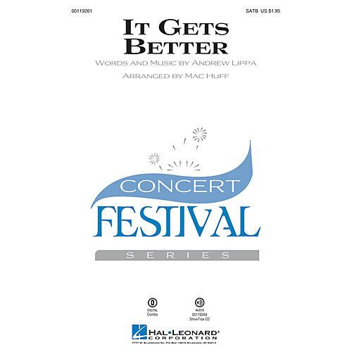 Hal Leonard It Gets Better ShowTrax CD Arranged by Mac Huff thumbnail