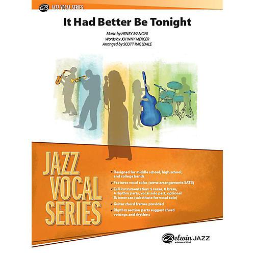 Alfred It Had Better Be Tonight Jazz Band Grade 3.5 Set thumbnail