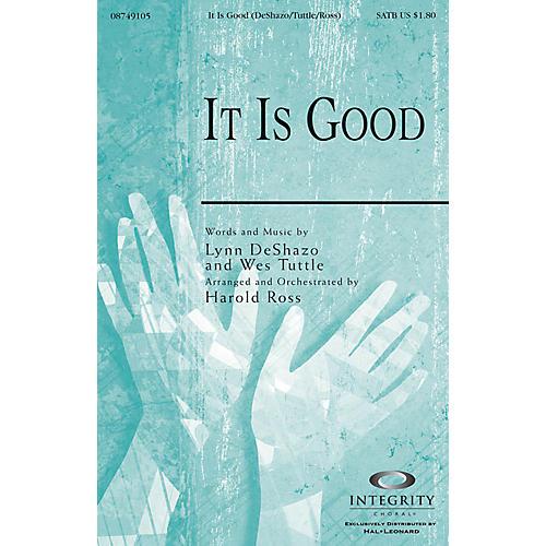Integrity Music It Is Good SPLIT TRAX Arranged by Harold Ross thumbnail