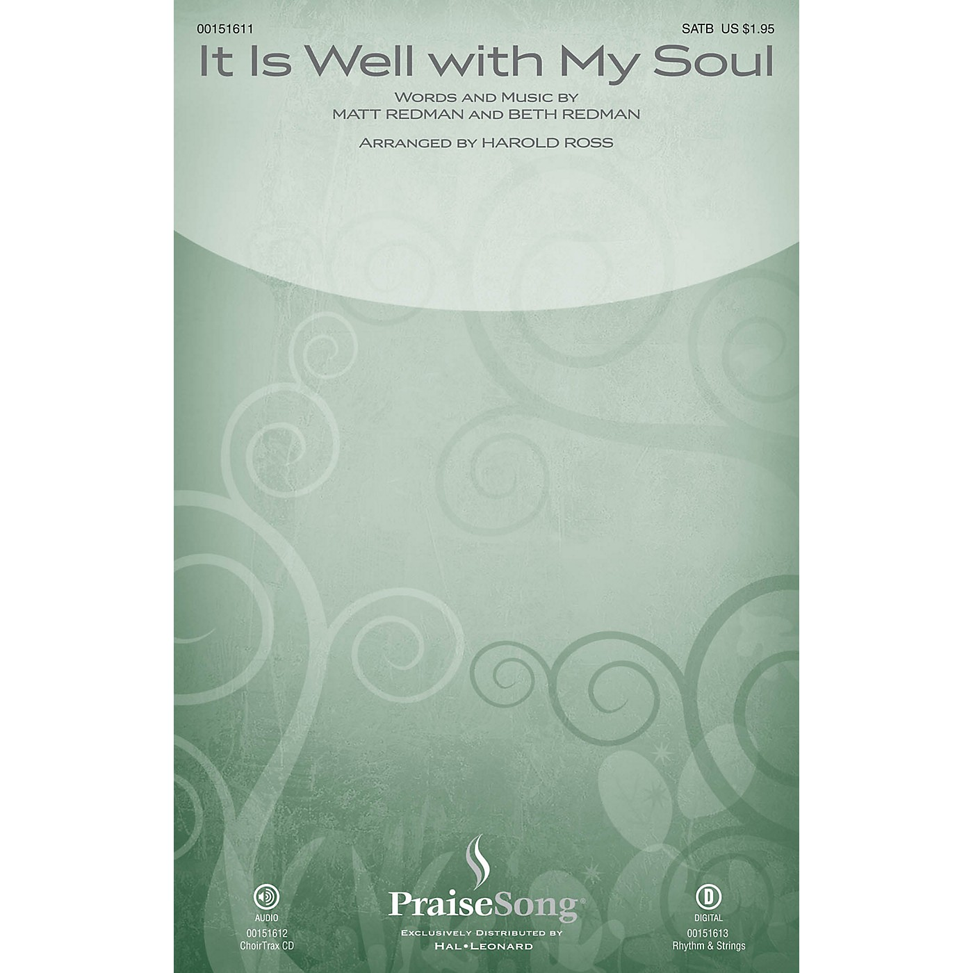 PraiseSong It Is Well with My Soul CHOIRTRAX CD by Matt Redman Arranged by Harold Ross thumbnail