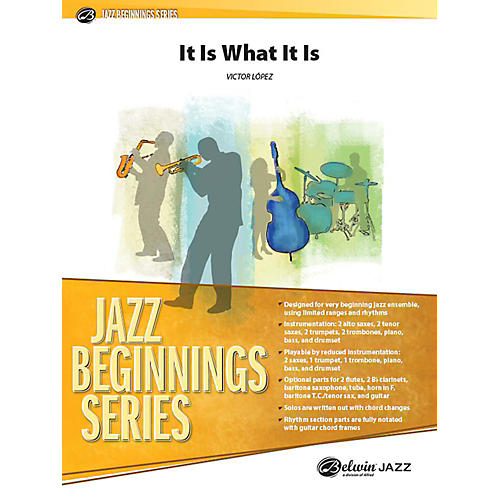 Alfred It Is What It Is Jazz Band Grade 1 Set thumbnail