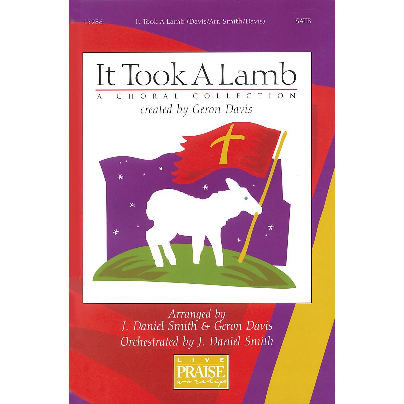 Integrity Music It Took A Lamb (A Choral Collection) SATB Arranged by J. Daniel Smith/Geron Davis thumbnail