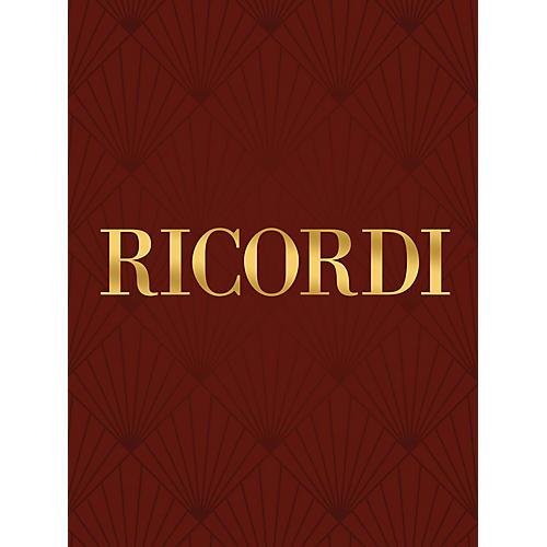Ricordi Italian Art Songs of the 20th Century (High Voice and Piano) Vocal Collection Series  by Various thumbnail