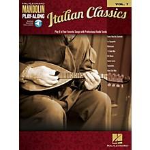 Hal Leonard Italian Classics (Mandolin Play-Along Volume 7) Mandolin Play-Along Series Softcover Audio Online