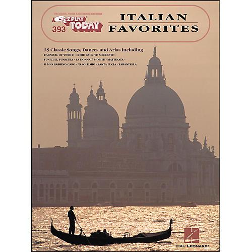 Hal Leonard Italian Favorites E-Z Play 393 thumbnail