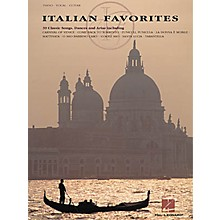 Hal Leonard Italian Favorites Piano, Vocal, Guitar Songbook