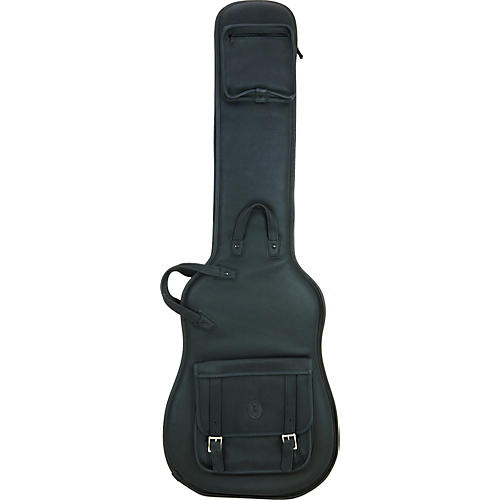 Levy's Italian Leather Bass Guitar Gig Bag-thumbnail