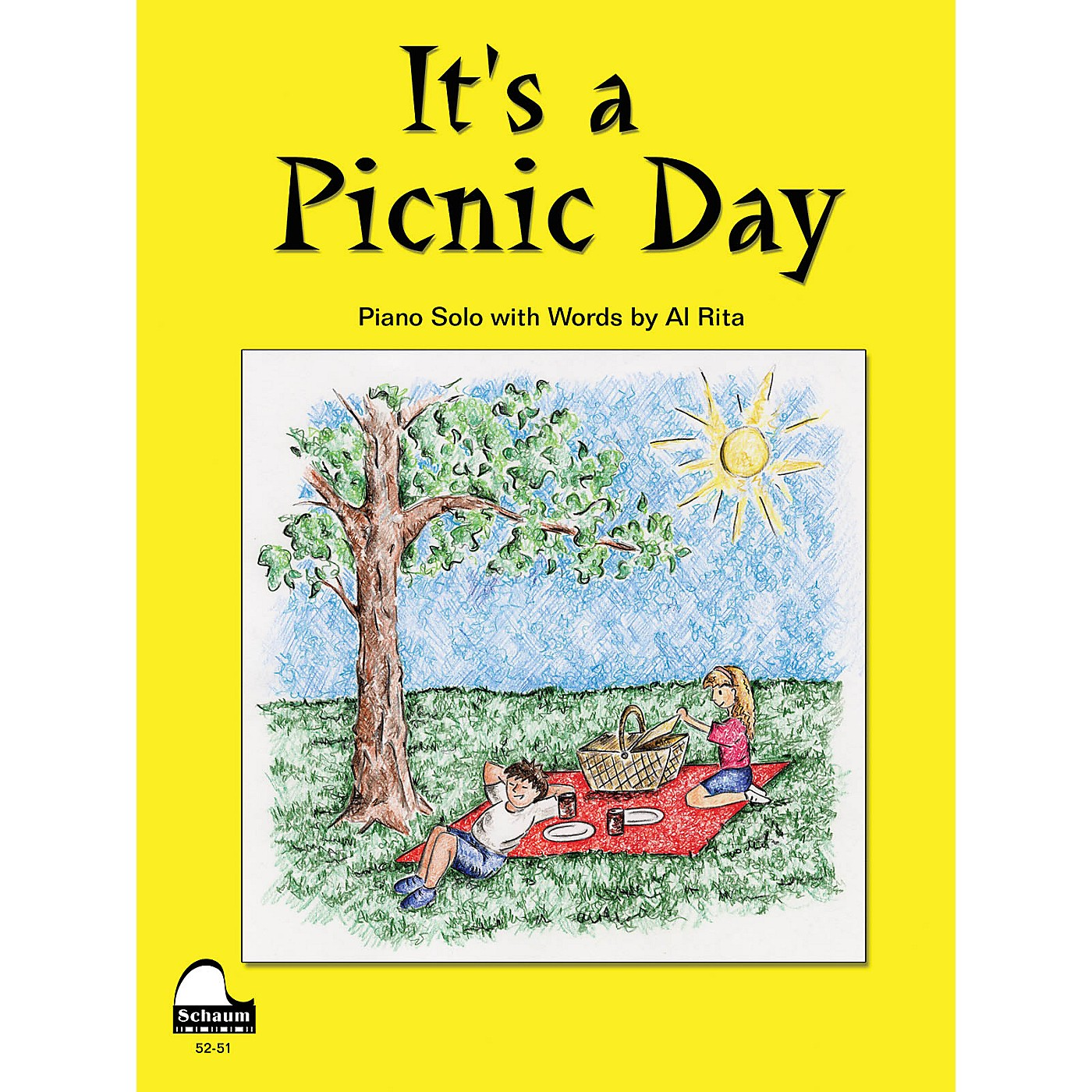 SCHAUM It's A Picnic Day Educational Piano Series Softcover thumbnail