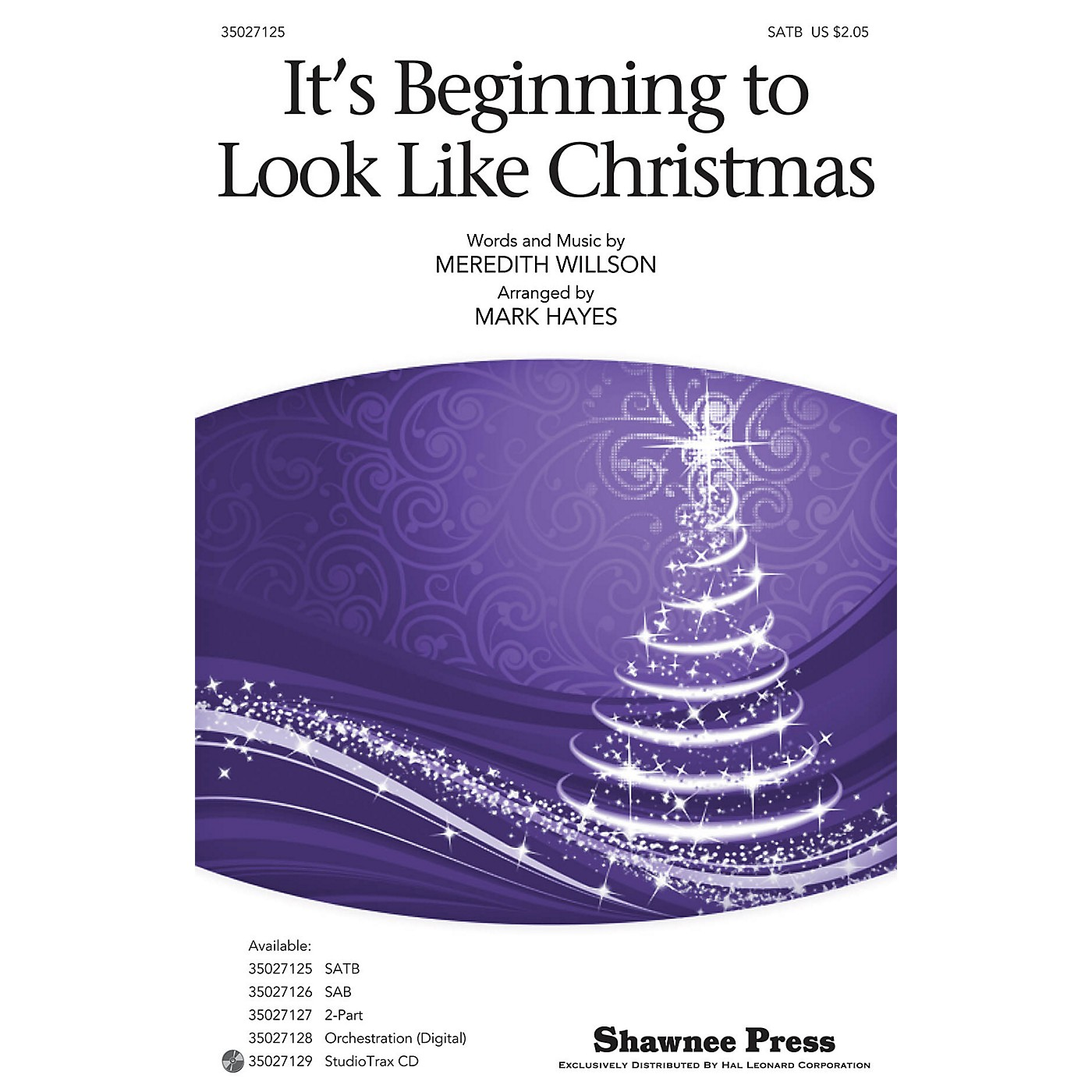 Hal Leonard It's Beginning to Look Like Christmas ORCHESTRA ACCOMPANIMENT Arranged by Mark Hayes thumbnail