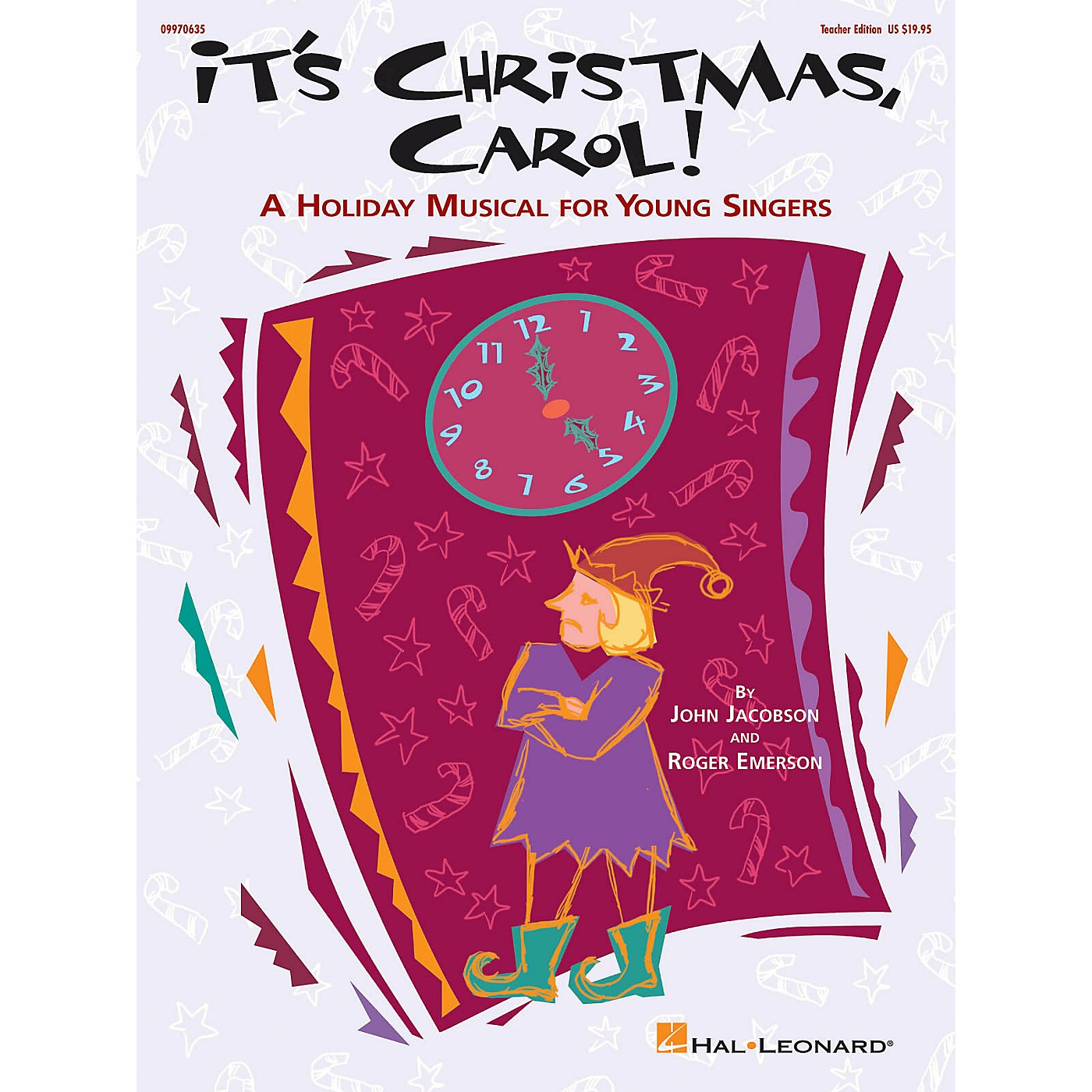 Hal Leonard It's Christmas, Carol! (A Holiday Musical for Young Singers) TEACHER ED Composed by Roger Emerson thumbnail