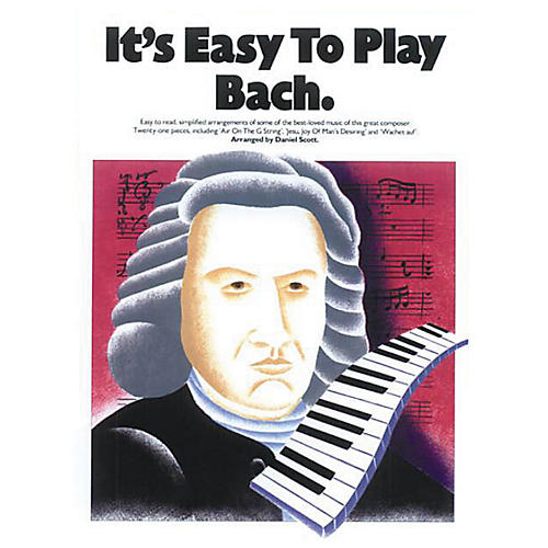 Music Sales It's Easy to Play Bach Music Sales America Series Softcover thumbnail