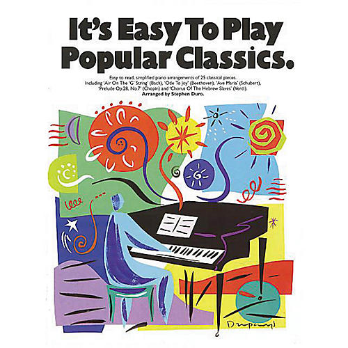 Music Sales It's Easy to Play Popular Classics Music Sales America Series Softcover thumbnail