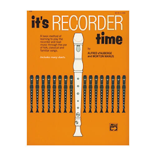 Alfred It's Recorder Time Book thumbnail