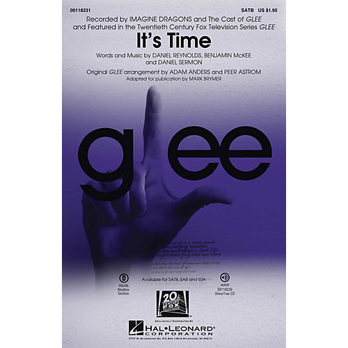 Hal Leonard It's Time SAB by Glee Cast Arranged by Adam Anders thumbnail