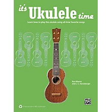 Alfred It's Ukulele Time Book