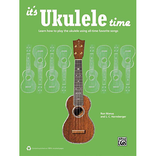 Alfred It's Ukulele Time Book thumbnail