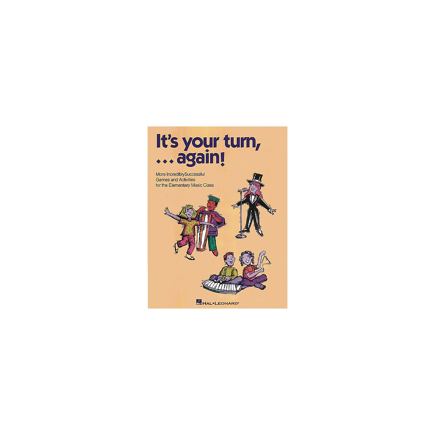Hal Leonard It's Your Turn... Again! (Resource of Games and Activities) CD Composed by Cheryl Lavender thumbnail
