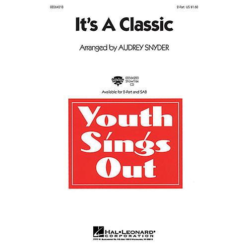 Hal Leonard It's a Classic 2-Part arranged by Audrey Snyder thumbnail