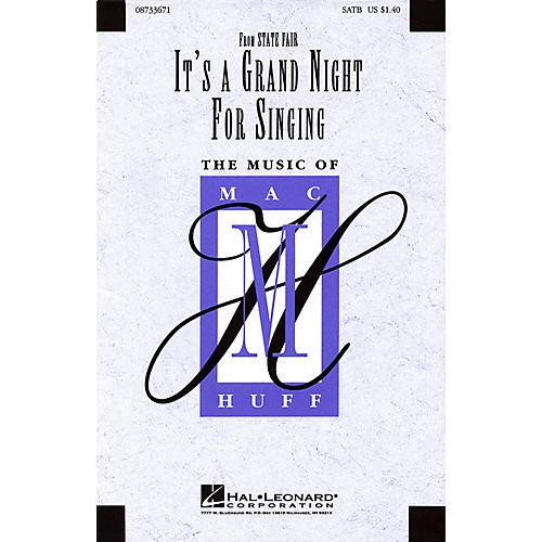 Hal Leonard It's a Grand Night for Singing (SATB) SATB arranged by Mac Huff thumbnail