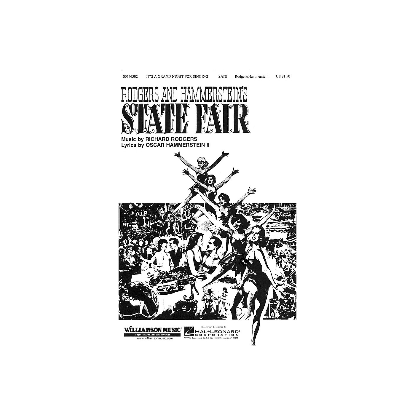 Hal Leonard It's a Grand Night for Singing (from State Fair) SATB arranged by William Stickles thumbnail