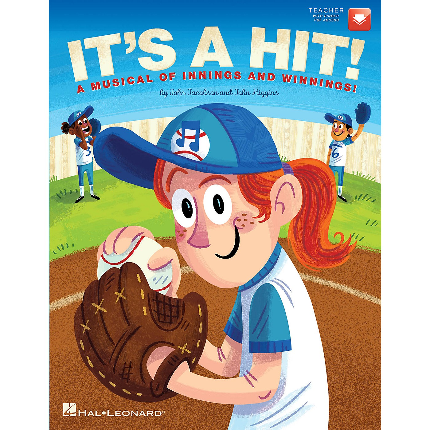 Hal Leonard It's a Hit! (A Musical of Innings and Winnings!) Performance/Accompaniment CD Composed by John Jacobson thumbnail