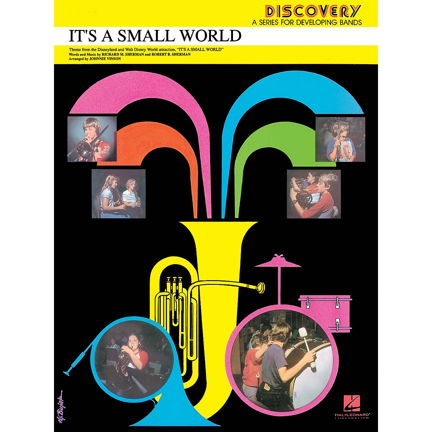 Hal Leonard It's a Small World Concert Band Level 1.5 Arranged by Johnnie Vinson thumbnail