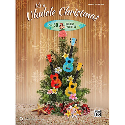 Alfred It's a Ukulele Christmas TAB Book thumbnail