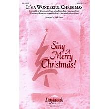Daybreak Music It's a Wonderful Christmas (Medley) SATB arranged by Mark Hayes
