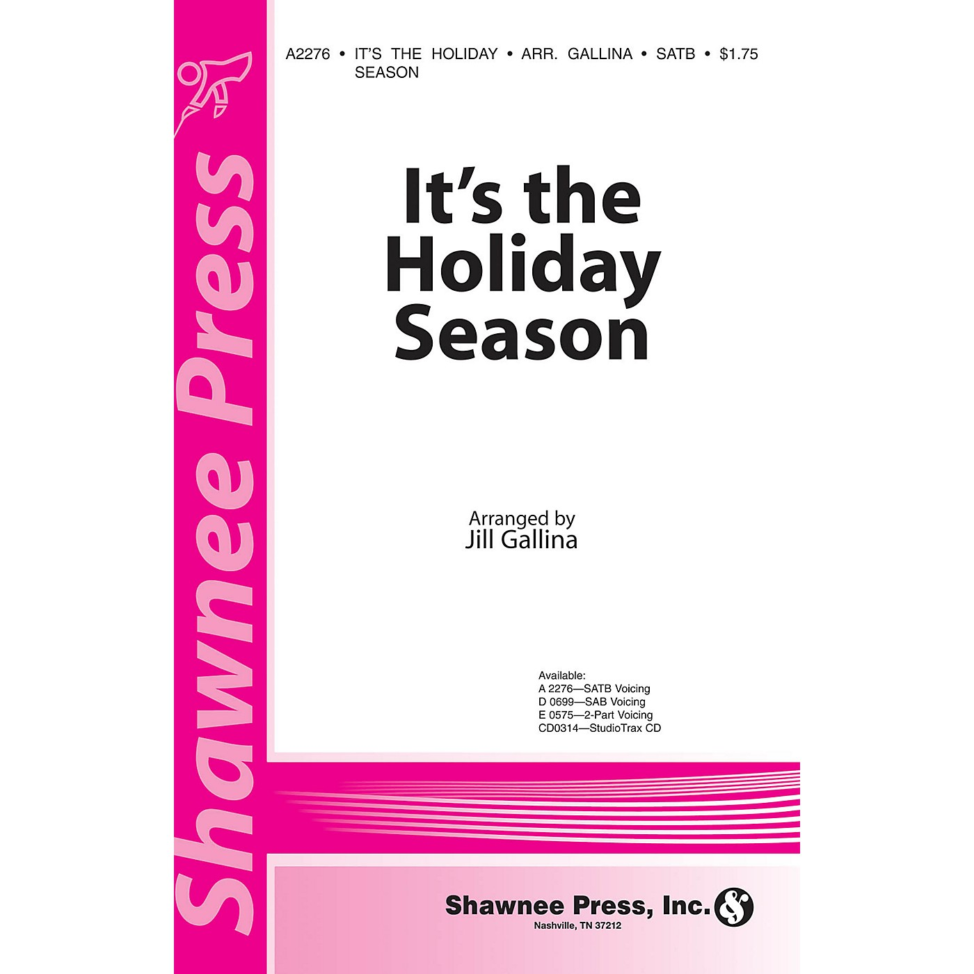 Shawnee Press It's the Holiday Season 2-Part Arranged by Jill Gallina thumbnail
