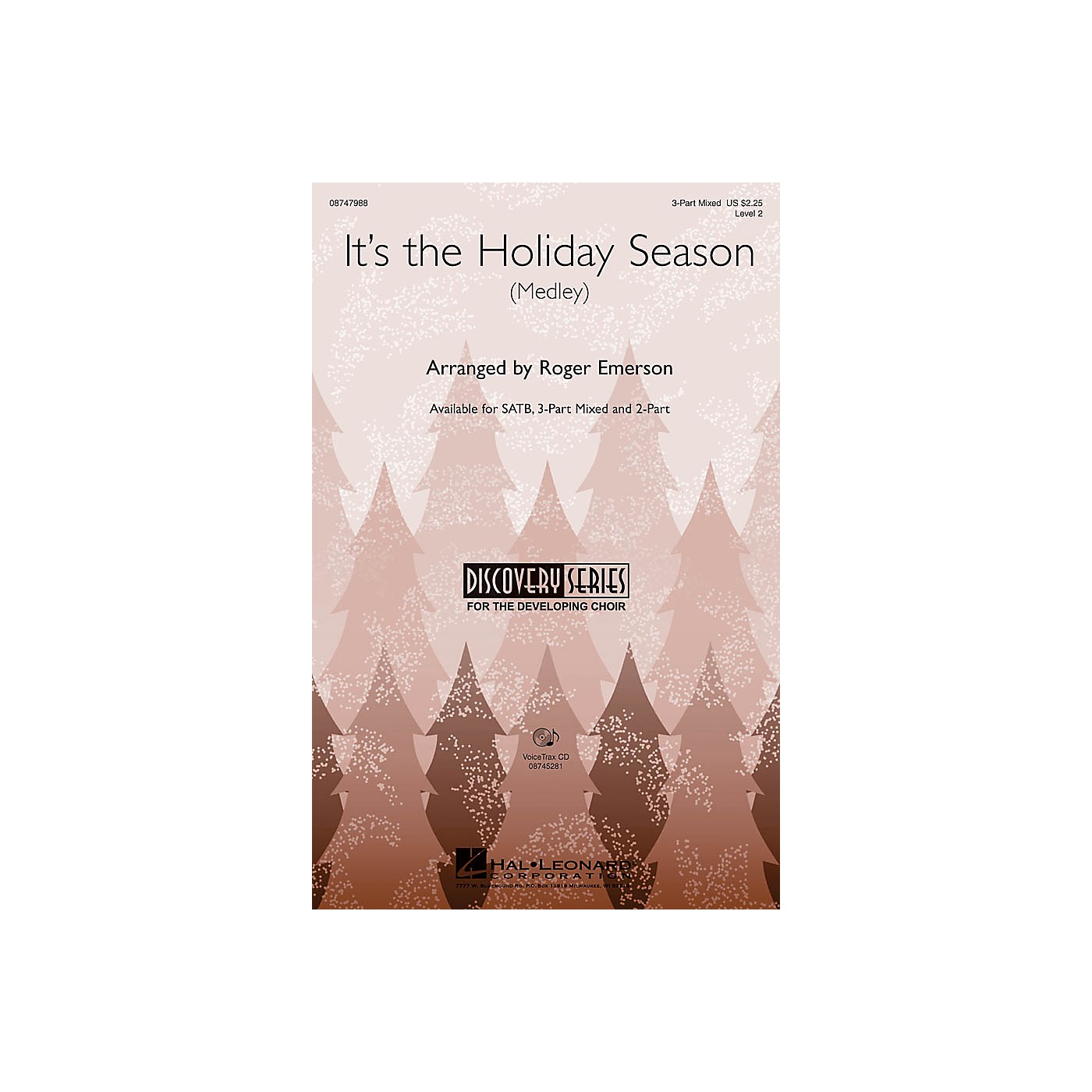Hal Leonard It's the Holiday Season 2-Part Arranged by Roger Emerson thumbnail